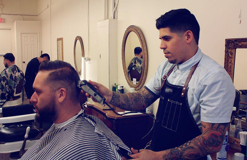 Loso Cutting Hair